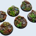 Jungle Round Bases
