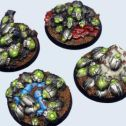 Mechano Swarm Round Bases