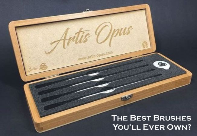 Artis Opus Series S Brush Set