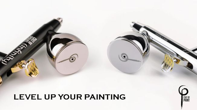 Cult of Paint airbrush airbrushes