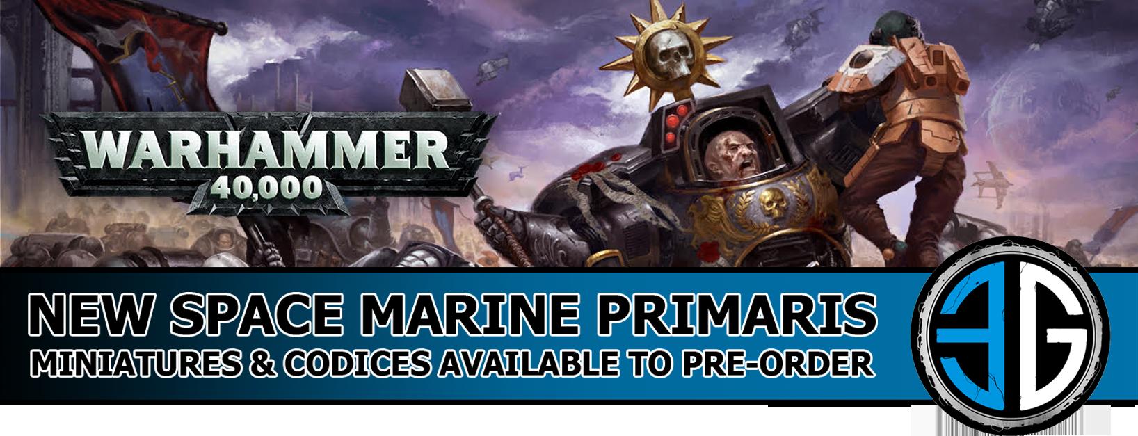 space marine primarys