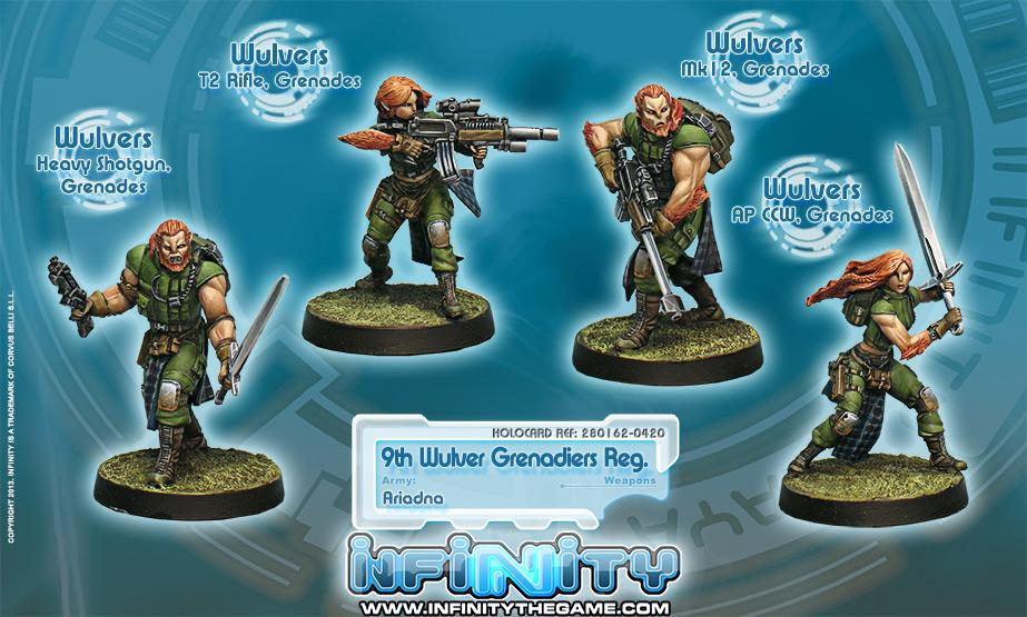 9th Wulver Grenadiers Regiment (box of 4)