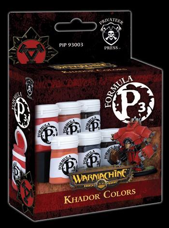 Formula P3- Khador Colours