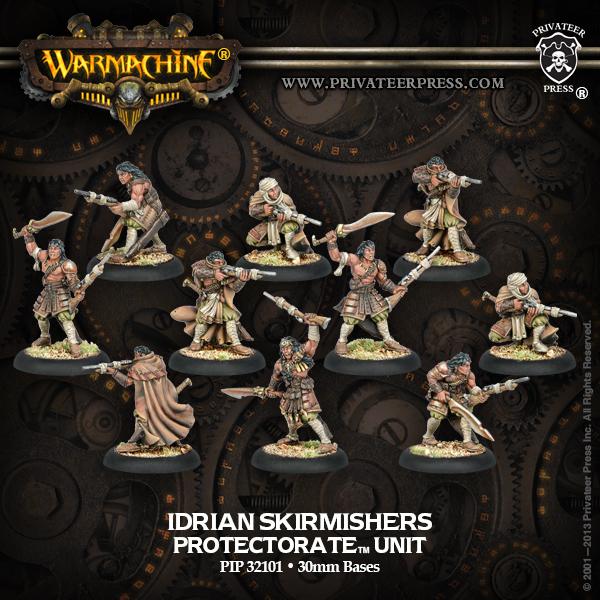 Idrian Skirmishers (6)