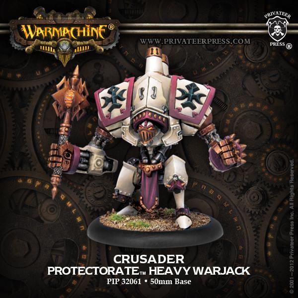 Heavy Warjack - Crusader /Templar /Vanquisher