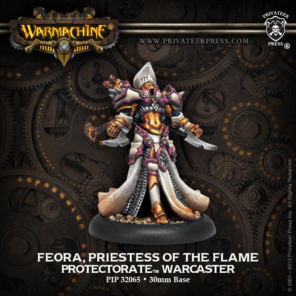 Feora, Priestess of the Flame