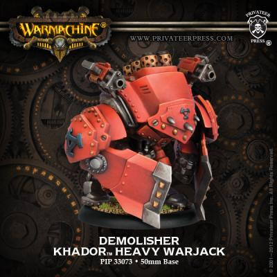 Heavy Warjack - Demolisher /Devastator /Spriggan