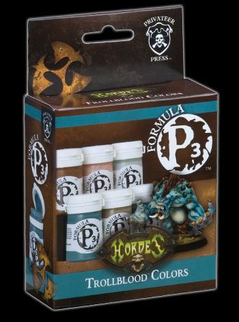 P3 Trollblood Colours Set