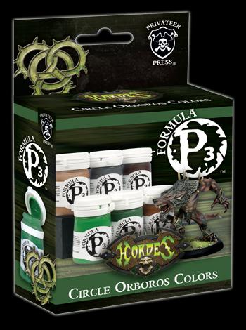 Circle Orboros Colours