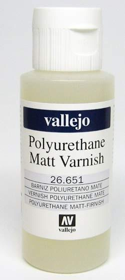 60ml Vallejo Matt Varnish