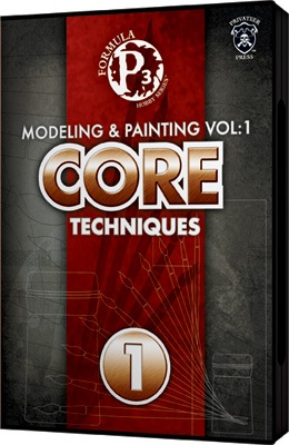 Formula P3 Hobby Series  Modeling and painting Volume 1  Core Techniques DVD