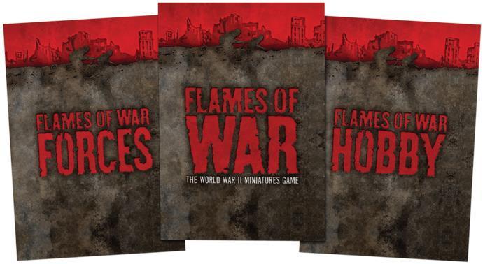 Flames Of War V3 Hardback Rulebook