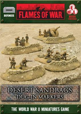 Desert Dug-In Sandbags