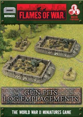 Gun Pits - Log Emplacements