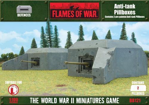 Anti-tank Pillboxes