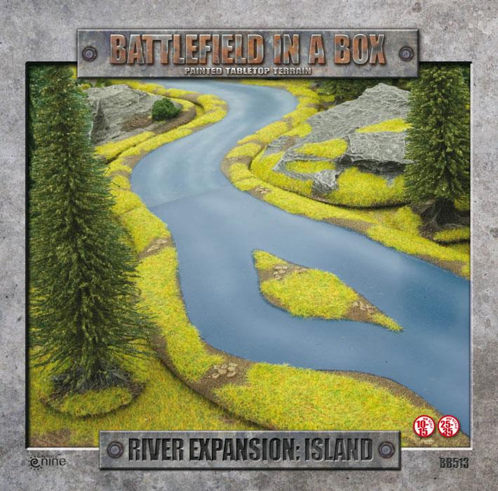 River Expansion - Island