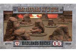 Badlands Rocks