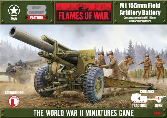 M1 155mm Field Artillery Battery