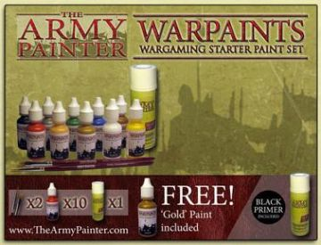 Starter Set - Warpaints Starter Set Black Spray