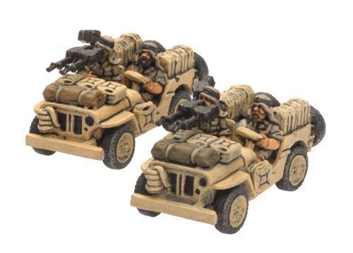 LRDG/SAS Jeep (x2)