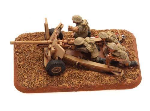 6 Pdr Gun (8th Army) (x2)