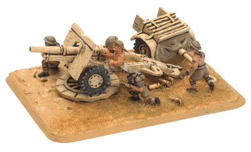 25 Pdr Gun (8th Army) (x2)