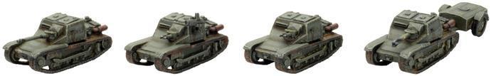 L3/35 Platoon X4