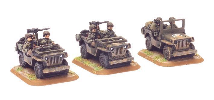 Jeep (3x Resin)