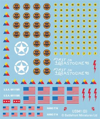 American Armor Decals