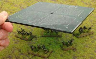 Green Artillery Template: Imperial - Miscellaneous | Element Games
