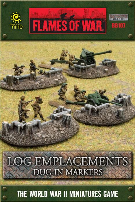 Battlefield In A Box - Log Emplacements