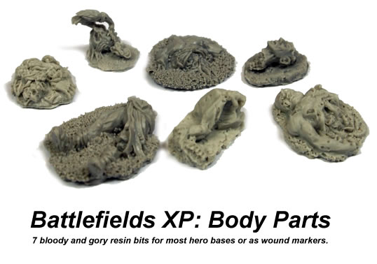 Battlefields XP: Body Parts (limited edition)