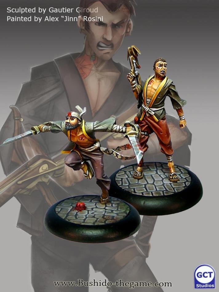 Wasupu&Senpu(models from the starter set)