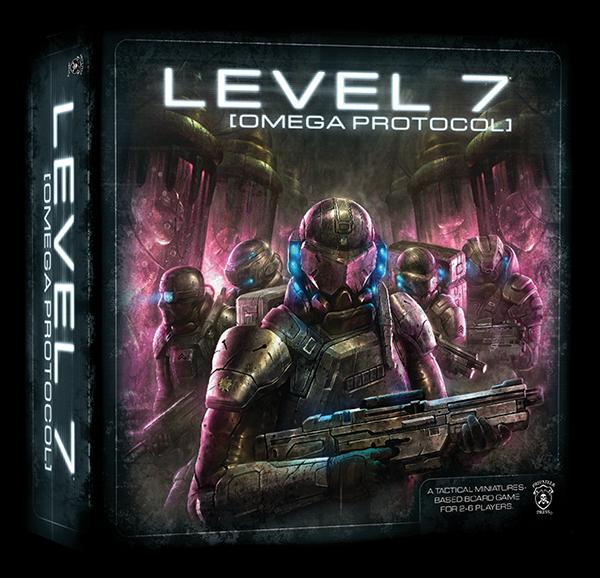 Level 7 Omega Protocol Game (with miniatures)