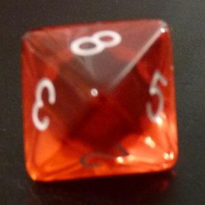 D8 x10 (Red Gem)