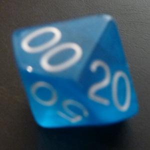 D10 (00-90) x10 (Blue Gem)