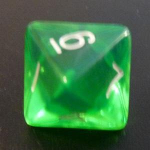 D8 x10 (Green Gem)