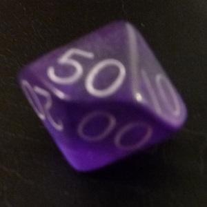 D10 (00-90) x10 (Purple Gem)