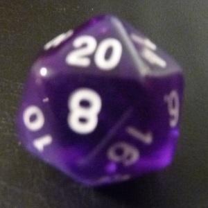 D20 (1-20) x10 (Purple Gem)