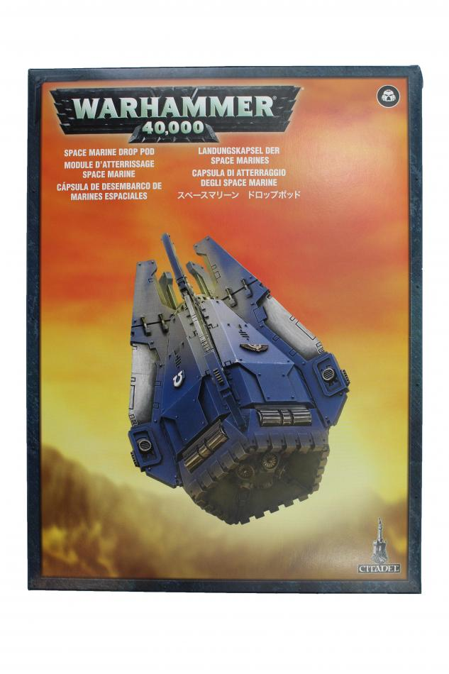 Space Marine Drop Pod