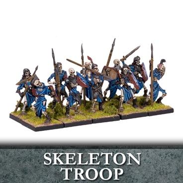 Undead Skeleton Troop (10)