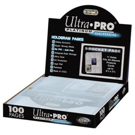 Ultra Pro: Platinum Series 9 Pocket Page