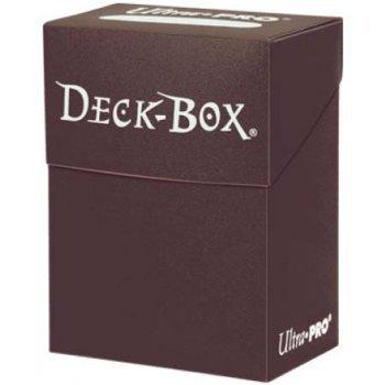 Brown Deck Box Single Unit