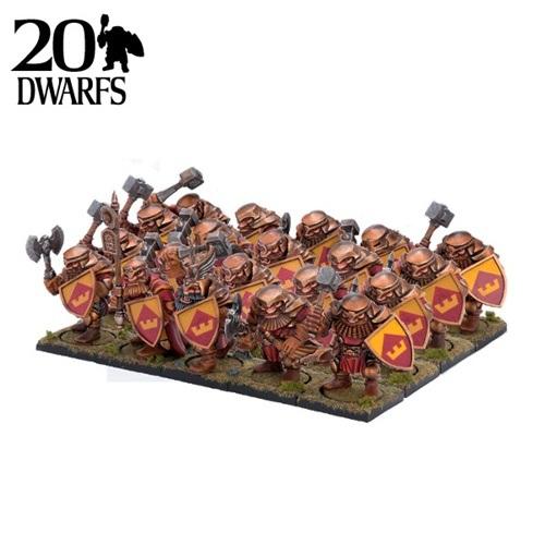 Dwarf Ironclad Regiment (20)