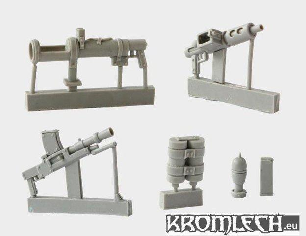 Orc War II British Weapons