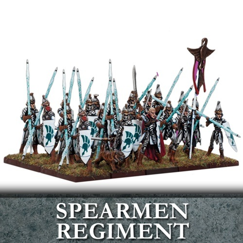 Elf Spearmen Regiment (20)