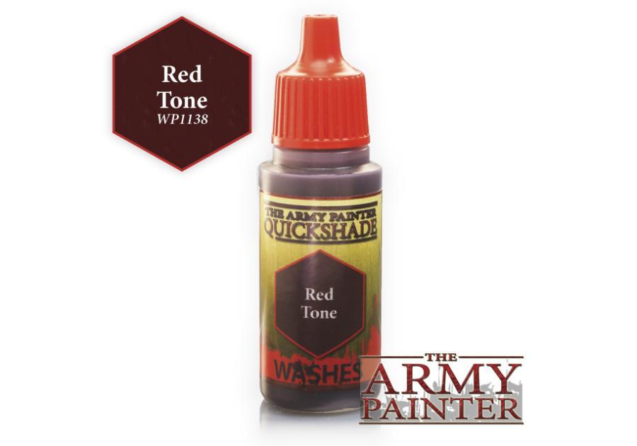 Warpaint - QS Red Tone Ink