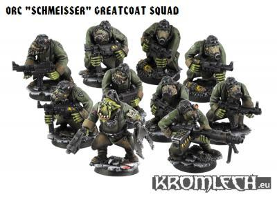 Orc Greatcoats Squad (10)