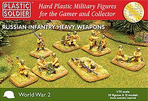 1/72 RUSSIANS- HEAVY WEAPONS