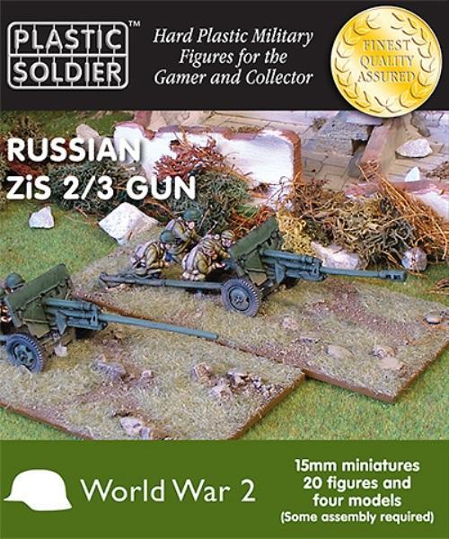 RUSSIAN 15mm ZIS 2 & 3 GUN